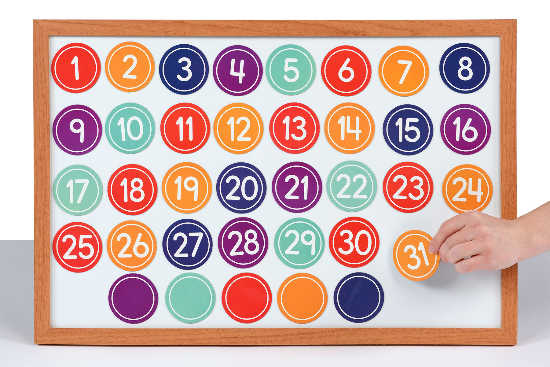 Magnetic Numbers Set